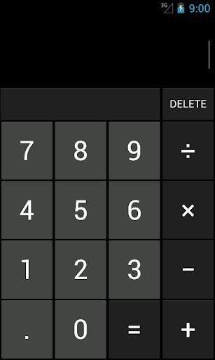 Calculator Holo
