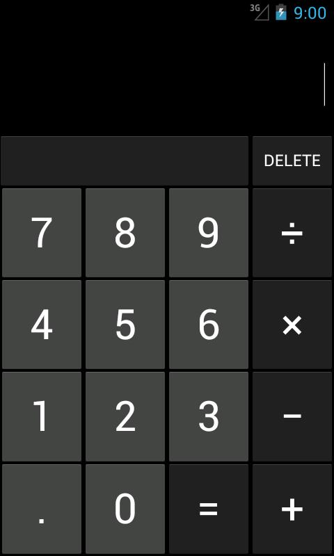 Open my calculator app