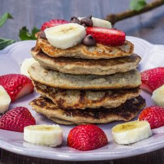 3-Ingredient Protein Pancakes.