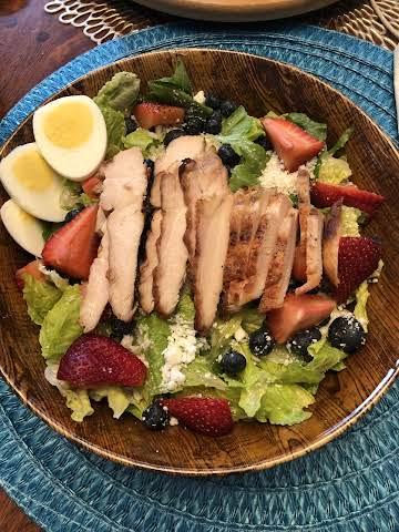Red White & Blue Chicken Salad