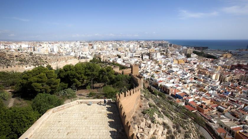 Vista general de la ciudad de Almería.