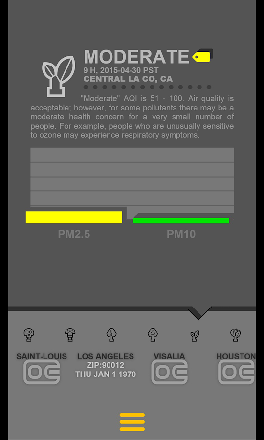 Air Quality USA- screenshot