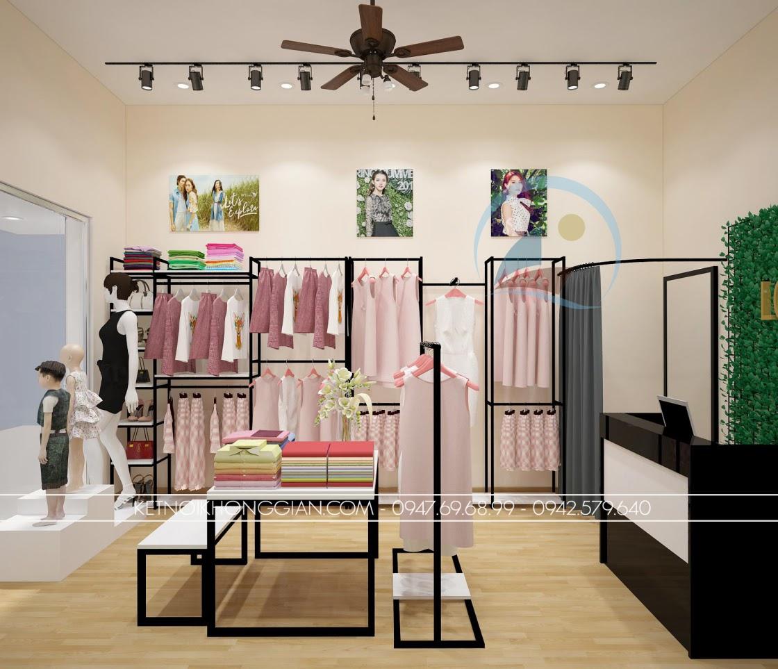 thiết kế shop thời trang rẻ đẹp