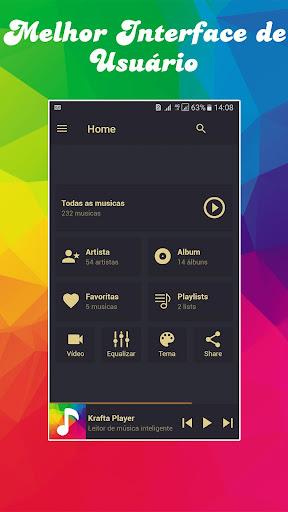 Krafta Music MP3 player for PC