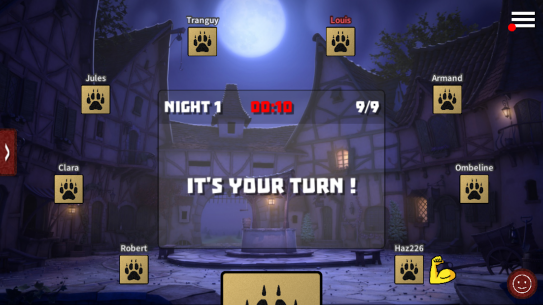 Werewolves Online Android App Screenshot