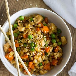 Easy 20 Minute Cauliflower Fried Rice.
