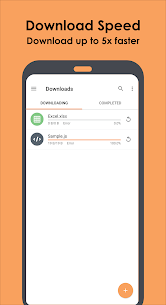 Download booster, download manager & accelerator Apk 4