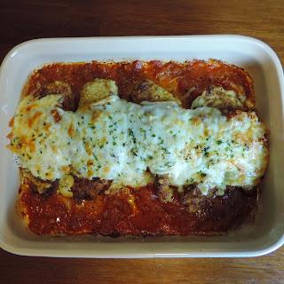 Chicken Parmesan Easy