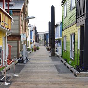 Dock street by Gabriela Zandomeni - City,  Street & Park  Street Scenes