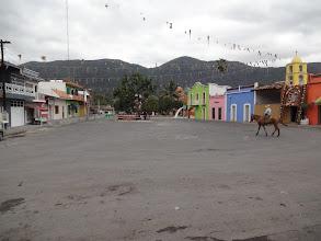 Photo: náměstíčko v Jalcomulcu.