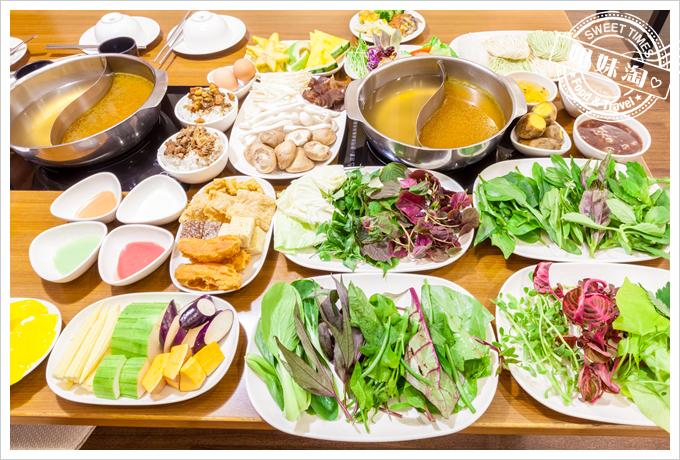上竹林食草館養生汆燙鍋-合菜