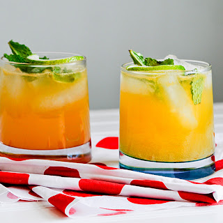 Passion Fruit Mojitos.