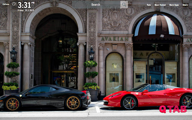 Luxury Lifestyle New Tab Wallpapers