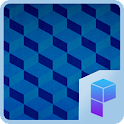 Blue Cube Launcher Theme icon