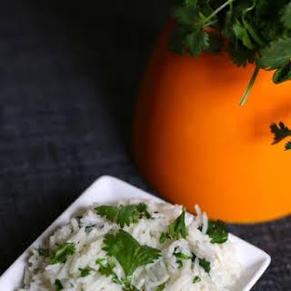 Chipotle Mexican Cilantro Lime Basmati Rice.