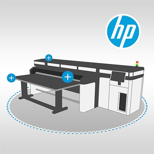HP Latex Virtual Demo Icon