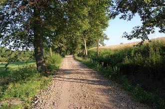 Photo: Droga z Jerzwałdu (Gerswalde) do Rucewa (Rotzung)