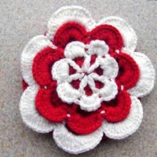 Crochet Flower Ideas - náhled