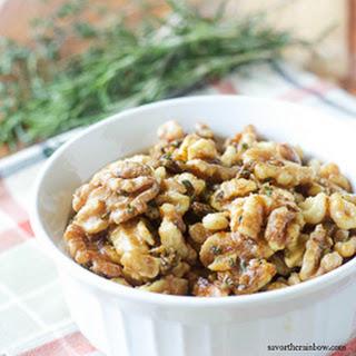 Herbed Walnuts Recipe
