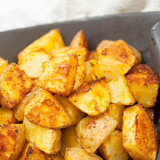 Healthy Taco Seasoned Roasted Potatoes.