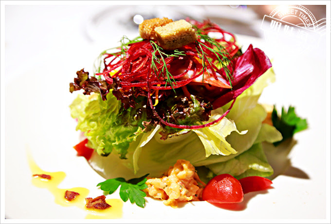 新國際西餐廳開胃主題沙拉2