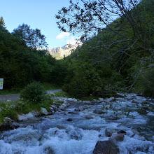 Photo: El río Estós baja caudaloso