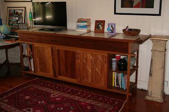 Photo: Paul's sideboard in Tas Blackwood