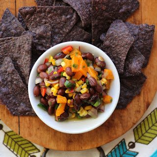 Game Day Salsa and Individual Nachos (Gluten-Free and Vegan)