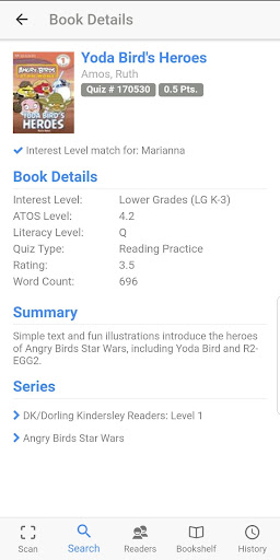 accelerated reader app google play