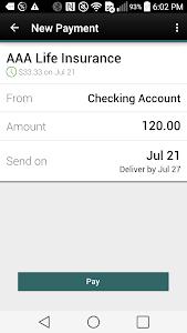 CFCU Mobile banking screenshot 4