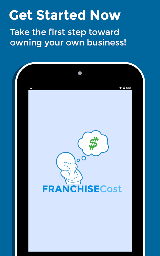 Franchise Cost- screenshot