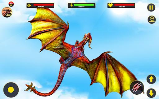 Flying Dragon City Attack 1.0.8 screenshots 7