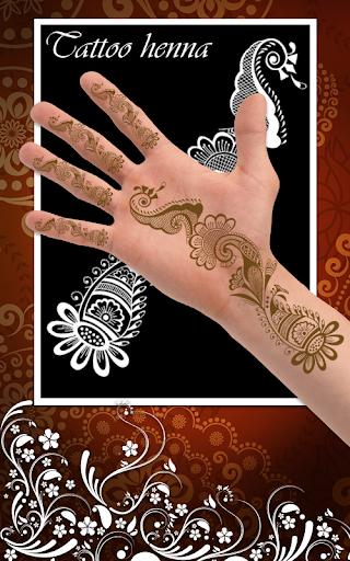 새로운 멘디 헤나 디자인 문신