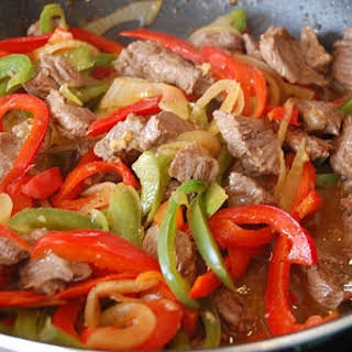 Stir-Fried Beef and Peppers.