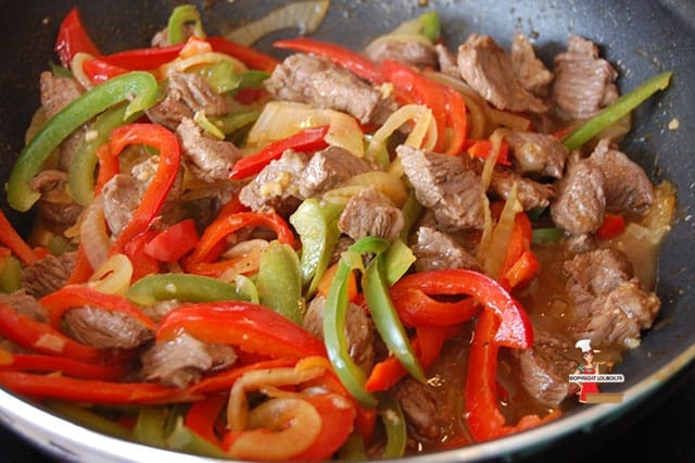 Stir-Fried Beef and Peppers Recipe