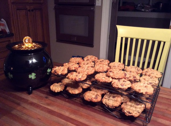 Oatmeal Peanut Butter Cookies With Chocolate Chips Recipe