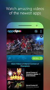 AppClip - náhled