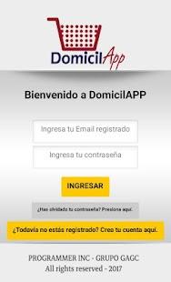 DomicilAPP - náhled