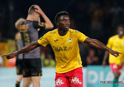 Fashion Sakala was de beste man tijdens KV Oostende-KV Mechelen