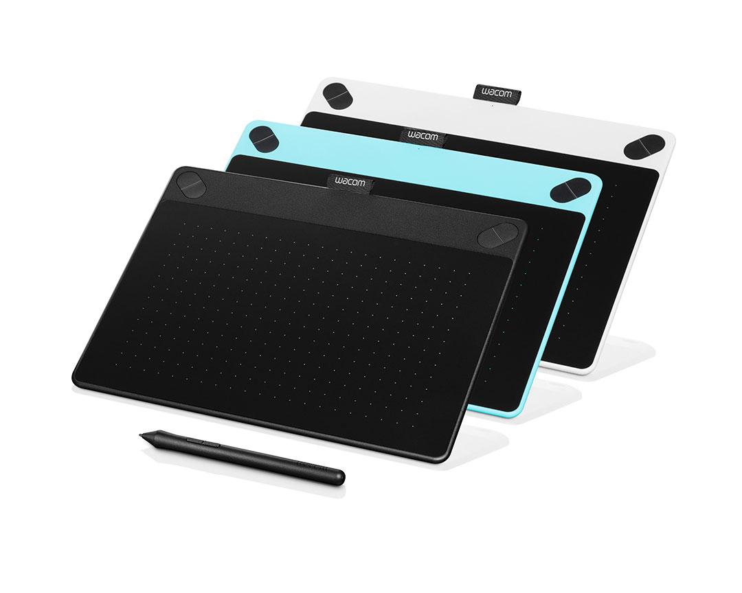 Wacom представила новую линейку графических планшетов Intuos