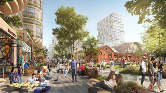 Downtown West mixed-use plan, San José, California