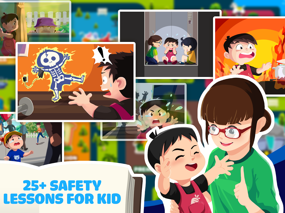 Safety for Kid - Section 1- screenshot