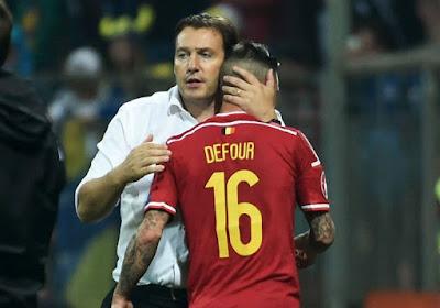 """Defour: """"Nous avons tout fait pour gagner"""""""