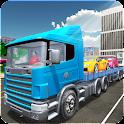 Car Transporter Truck ÉtatsUni icon