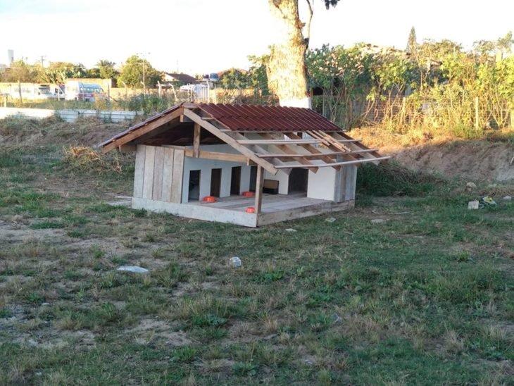 Condominio de casa para perritos