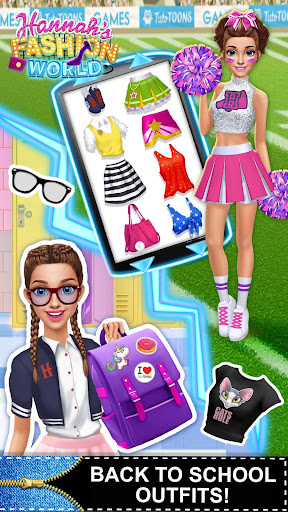 Hannahu2019s Fashion World - Dress Up & Makeup Salon  screenshots 7