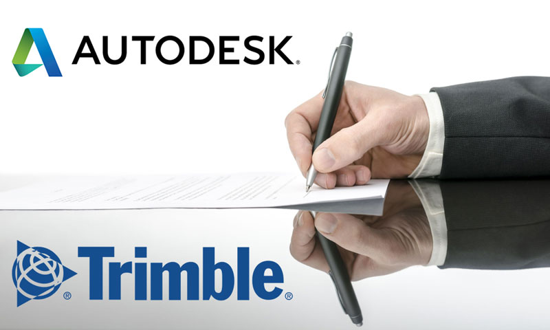 Autodesk и Trimble повышают совместимость своих решений