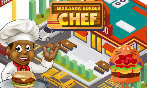 Wakanda Burger Chef  captures d'écran 1