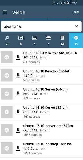 FrostWire - Torrent Downloader screenshot 2