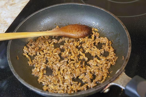 Add the chorizo, or breakfast sausage to a skillet over medium heat, and cook...